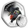 The Southern Rockhopper Penguin 2018 50p Cupro Nickel Coin