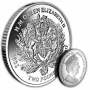 The 2017 Queen's Sapphire Jubilee Royal Crest Silver Coin