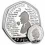 Sherlock Holmes 2019 UK 50p Silver Proof Coin