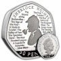 Sherlock Holmes 2019 UK 50p Silver Proof Piedfort Coin