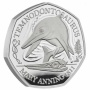 Temnodontosaurus 2021 UK Silver Proof 50p Coin