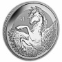 The 2018 Pegasus Reverse Silver Frosted Bullion