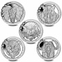 The Big Five 2019 Complete Series Cupro Nickel Coin