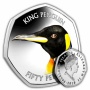 The King Penguin 2018 50p Cupro Nickel Coin