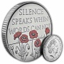 The Remembrance Day 2017 UK £5 Brilliant Uncirculated Coin