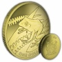 The 2018 Yellow Tree Frog Titanium Coin