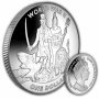 Uncle Sam and Britannia 2019 Cupro Nickel Coin