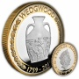 Wedgwood 2019 UK £2 Silver Proof Piedfort Coin