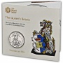 The Queen's Beasts The Yale of Beaufort 2019 UK £5 Brilliant Uncirculated Coin