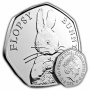 Flopsy Bunny 2018 UK 50p Brilliant Uncirculated Coin