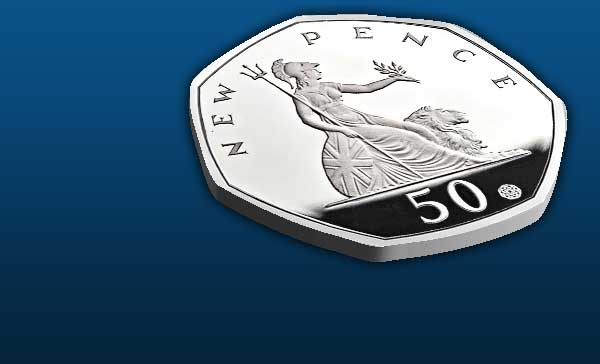50 Years of the 50p