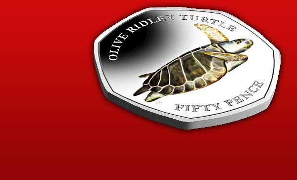 The Turtle 50p Collection