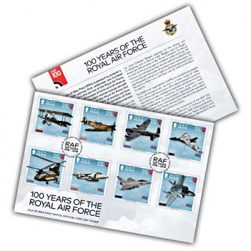 100 Years of the Royal Air Force First Day Cover