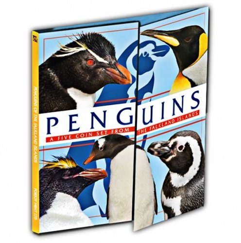 The Penguin 2018 50p Album