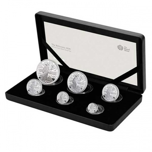 2020 Britannia Six-Coin Silver Proof Set