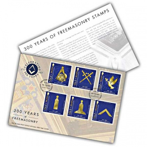 Freemasons First Day Cover