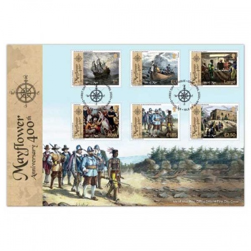 The 400th Anniversary of the Mayflower First Day Cover