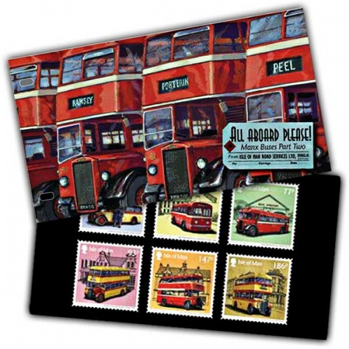 All Aboard Please! Manx Buses Part Two Presentation Pack