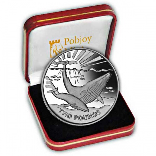 The 2017 Blue Whale Silver Coin