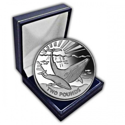 The 2017 Blue Whale Cupro Nickel Coin