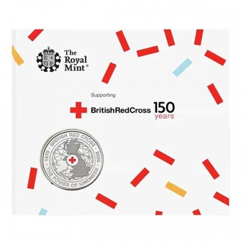 British Red Cross 2020 UK £5 Brilliant Uncirculated Coin