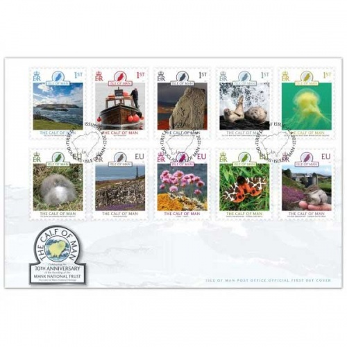 Calf of Man First Day Cover