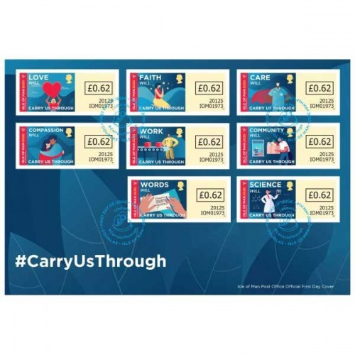 #CarryUsThrough Self Adhesive First Day Cover