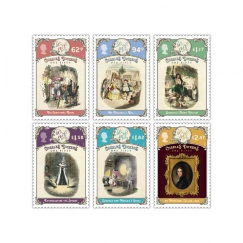 Charles Dickens One- Fifty Set (CTO)