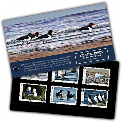Coastal Birds of the Isle of Man Presentation Pack