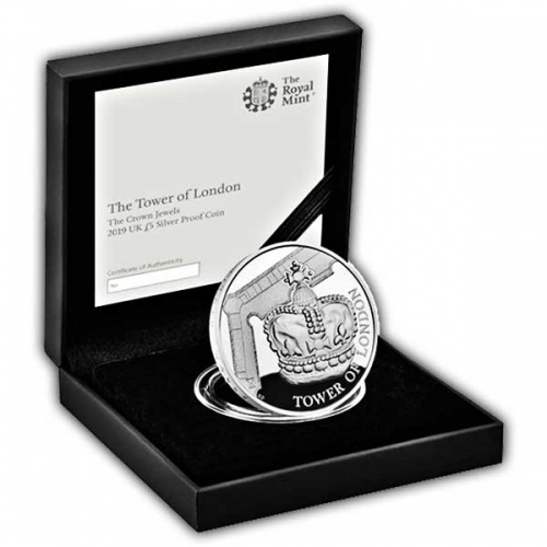 Crown Jewels 2019 UK £5 Silver Proof Coin