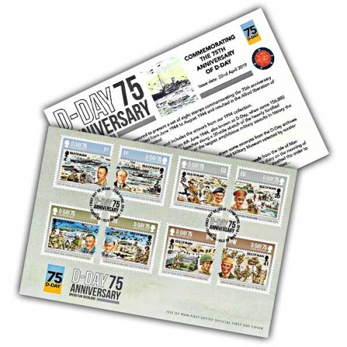 D-Day 75 First Day Cover