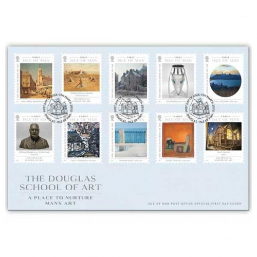 The Douglas School of Art First Day Cover
