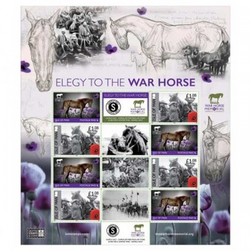 Elegy of the War Horse Commemorative Sheetlet (CTO)