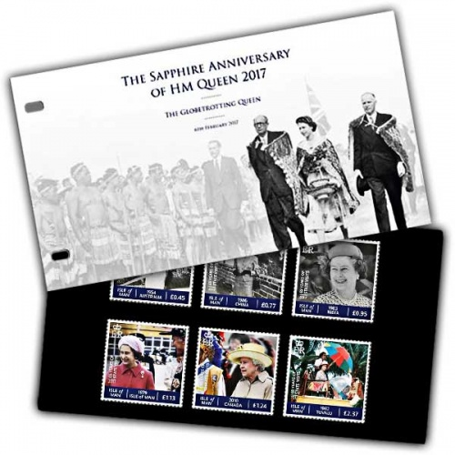 The Sapphire Jubilee - The Globetrotting Queen Presentation Pack