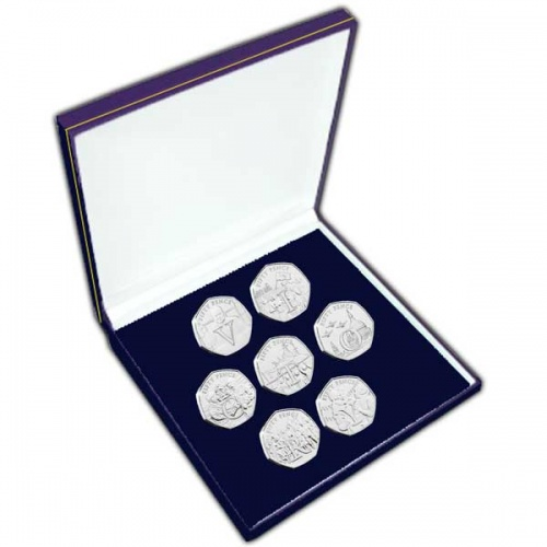 The 75th Anniversary of VE Day 50p Coin Set in a box