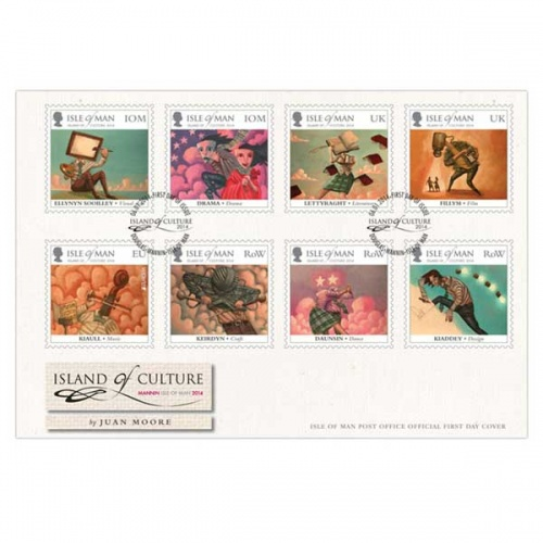 Island of Culture First Day Cover
