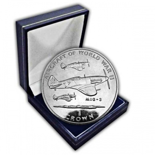 The 1995 Aircraft of WWII - Mig-3 Cupro Nickel Coin