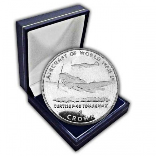 The 1995 Aircraft of WWII - Tomahawk Cupro Nickel Coin
