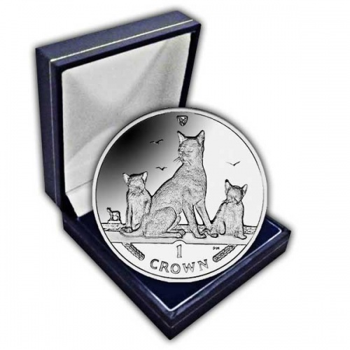The 2016 Havana Brown Cat Cupro Nickel Coin