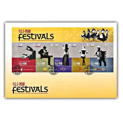 Isle of Man Festivals Miniature Sheet (CTO)