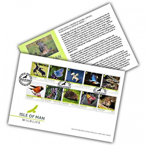 Isle of Man Wildlife First Day Cover