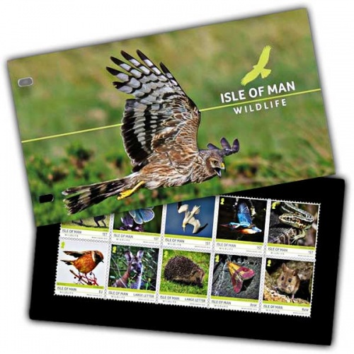 Isle of Man Wildlife Presentation Pack