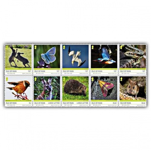 Isle of Man Wildlife CTO Set