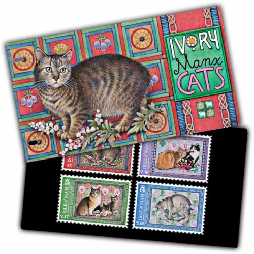 Ivory Manx Cats Presentation Pack