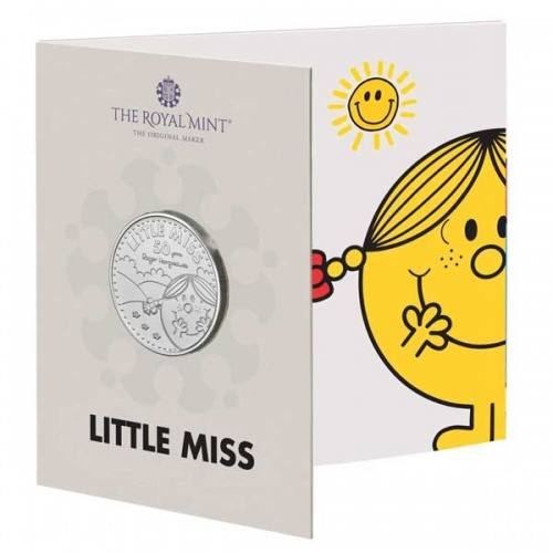 Little Miss Sunshine 2021 UK £5 Brilliant Uncirculated Coin