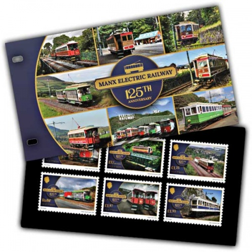 Manx Electric Railway 125th Anniversary Presentation Pack