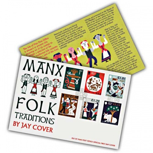 Manx Folk Traditions First Day Cover