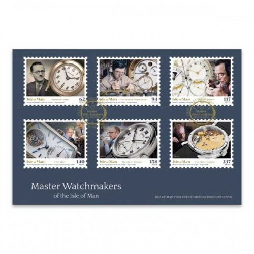 Master Watchmakers First Day Cover