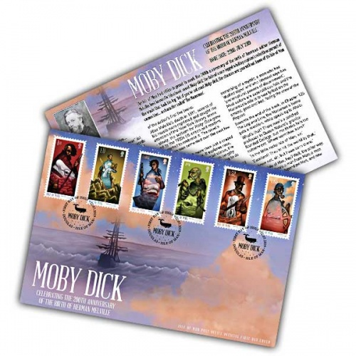 Moby Dick First Day Cover