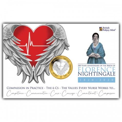 Florence Nightingale 2020 £2 Bi-metal Coin